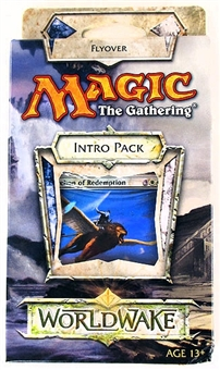Magic the Gathering Worldwake Intro Pack - Flyover