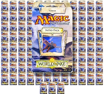 Magic the Gathering Worldwake Intro Pack - Flyover (Lot of 100)