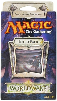 Magic the Gathering Worldwake Intro Pack - Fangs of the Bloodchief (Lot of 10)