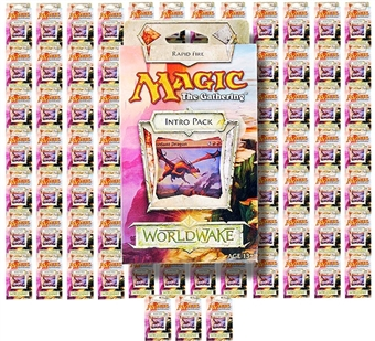 Magic the Gathering Worldwake Intro Pack - Rapid Fire (Lot of 100)