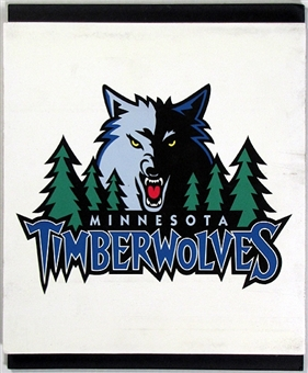 Minnesota Timberwolves 2004 NBA Draft Board Team Logo Panels