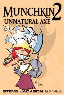 Munchkin 2: Unnatural Axe! Card Game (Steve Jackson Games)