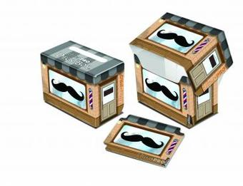 Ultra Pro Moustachio Full View Deck Box - Regular Price $2.99 !!!