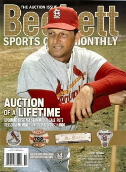 2013 Beckett Sports Card Monthly Price Guide (#344 November) (Musial)
