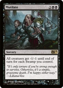 Magic the Gathering 2013 Single Mutilate - NEAR MINT (NM)