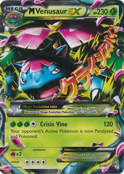 Pokemon X and Y Single M Venusaur EX 2/146 - NEAR MINT (NM)