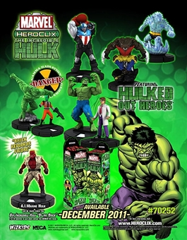 Marvel HeroClix The Incredible Hulk Booster Pack