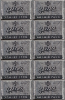 2007/08 Upper Deck MVP Rookie Redemption Hockey Pack (Lot of 10)