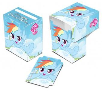 Ultra Pro My Little Pony Rainbow Dash Blue Full View Deck Box - Regular Price $2.99 !!!