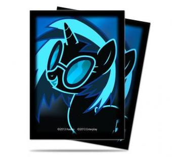 Ultra Pro My Little Pony DJ Pon3 Standard Sized Deck Protectors (65 ct) - Regular Price $5.99 !!!