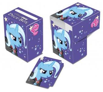 Ultra Pro My Little Pony Trixie Full View Deck Box - Regular Price $2.99 !!!