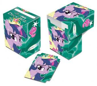 Ultra Pro My Little Pony Twilight Sparkle Full View Deck Box (Case of 60)