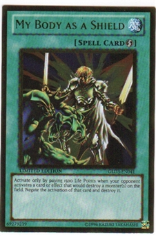 Yu-Gi-Oh Gold Series 3 Single My Body As A Shield (GLD3-EN041)