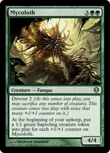 Magic the Gathering Shards of Alara Single Mycoloth - NEAR MINT (NM)