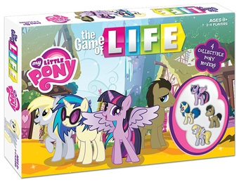 The Game of Life: My Little Pony Board Game (USAopoly)