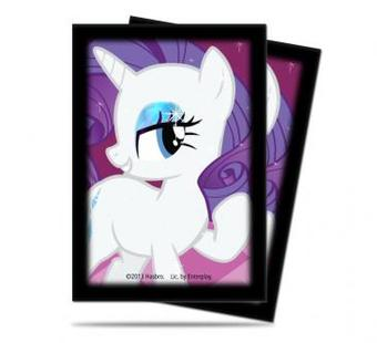 Ultra Pro My Little Pony Small-Size Deck Protector Sleeves - Rarity 60ct Pack