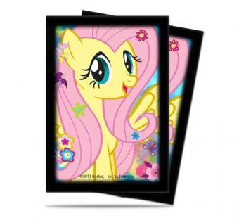 Ultra Pro My Little Pony Small-Size Deck Protector Sleeves - Fluttershy 10-Box Case (6000ct)