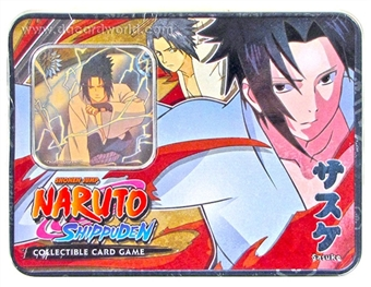 Naruto Unbound Power Sasuke Tin (Bandai)