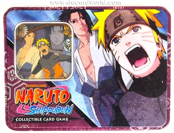 Naruto Fierce Ambitions - Tin B (Bandai)