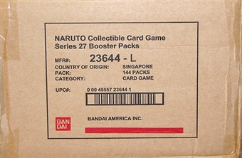 Naruto Hero's Ascension Booster 6-Box Case