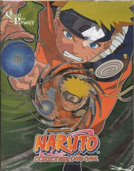 Naruto Quest for Power Theme Deck (Bandai) (Green)