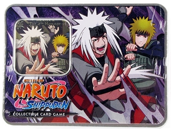 Naruto Untouchable Jiraiya and the Fourth Hokage Tin (Bandai)