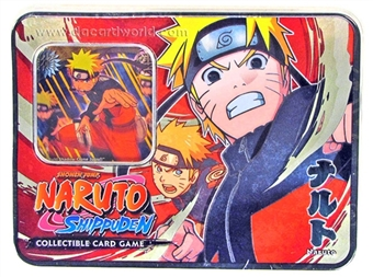 Naruto Unbound Power Naruto Tin (Bandai)