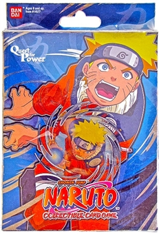 Naruto Quest for Power Theme Deck (Bandai) (Blue)