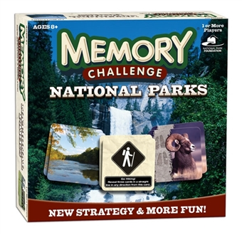 Memory Challenge: National Parks (USAopoly)