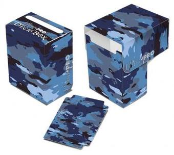 Ultra Pro Navy Camouflage Full View Deck Box (Case of 60)