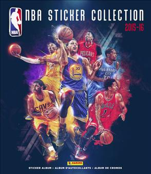 2015/16 Panini NBA Basketball Sticker Pack (Lot of 50)