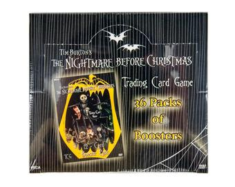Nightmare Before Christmas TCG Booster Box (NECA 2005)