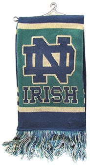 Notre Dame Fighting Irish Adidas Team Knit Scarf (One Size Fits All)