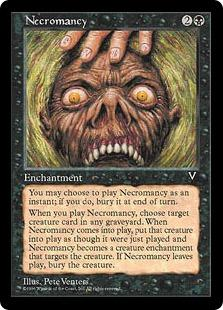 Magic the Gathering Visions Single Necromancy UNPLAYED (NM/MT)