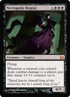 Magic the Gathering Return to Ravnica Single Necropolis Regent - NEAR MINT (NM)