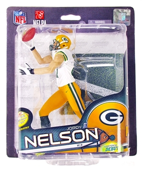 Green Bay Packers Jordy Nelson (White) Gold Level Variant McFarlane Series 32 NFL Figure