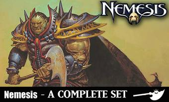 Magic the Gathering Nemesis A Complete Set - NEAR MINT / SLIGHT PLAY (NM/SP)
