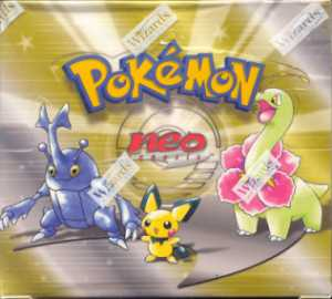 WOTC Pokemon Neo 1 Genesis Booster Box