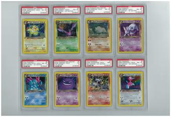 Pokemon Neo Destiny 1st Edition LOT - 14 PSA Graded Holos!