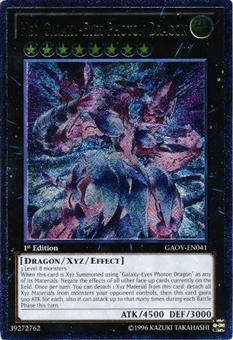 Yu-Gi-Oh Galactic Overlord Single Neo Galaxy - Eyes Photon Dragon Ultimate Rare