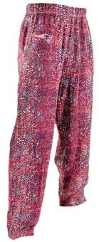 New England Patriots Zubaz Navy and Red Post Print Pants