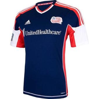 New England Revolution Adidas ClimaCool Navy Replica Jersey (Adult S)