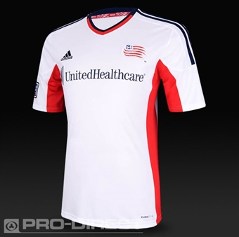 New England Revolution Adidas ClimaCool White Replica Jersey (Adult XL)