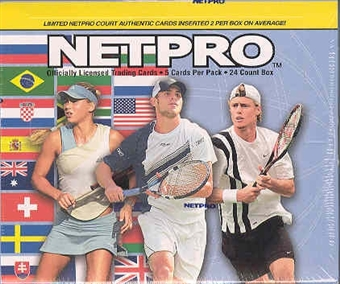 2003 NetPro International Tennis Hobby Box