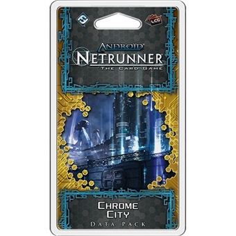 Android Netrunner LCG: Chrome City Data Pack