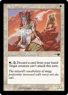 Magic the Gathering Nemesis Single Netter en-Dal Foil