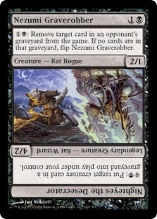 Magic the Gathering Champs of Kamigawa Single Nezumi Graverobber Foil