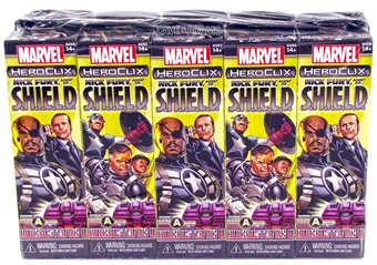 Marvel HeroClix: Nick Fury Agent of S.H.I.E.L.D. Booster Brick (10 Ct.)