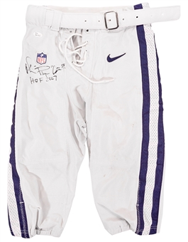 "Michael Irvin Autographed Dallas Cowboys Authentic Nike Pants w/""Playmaker"" Insc. (JSA)"