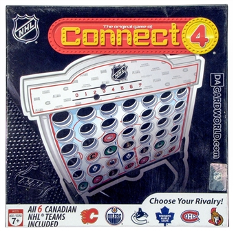 NHL Connect Four Board Game